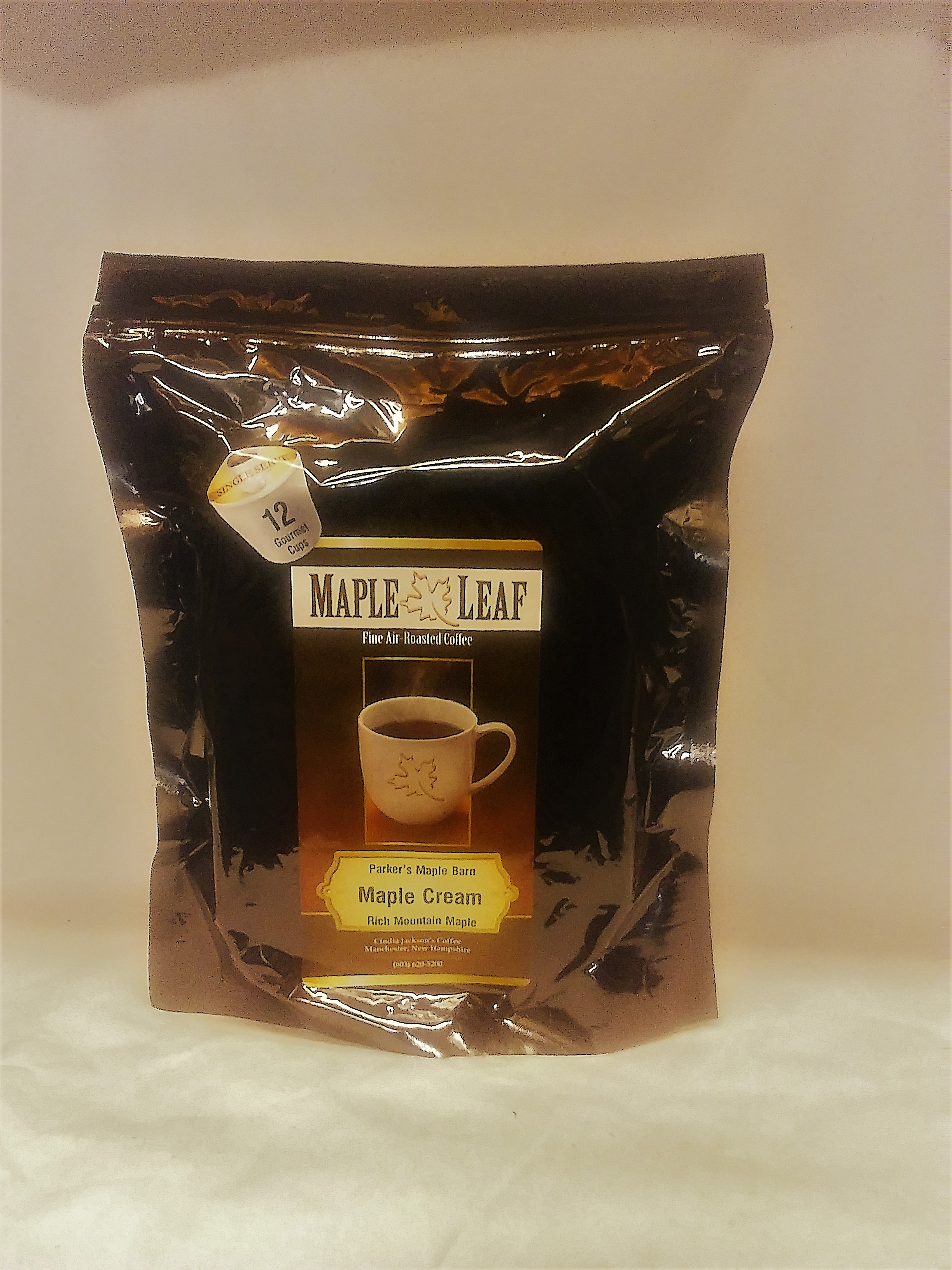 12 Pack K Cup Maple Cream Coffee Regular