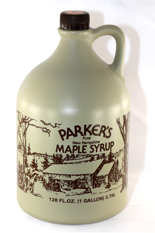 #1 - Plastic Jug - Pure Maple Syrup - Gallon - 128 oz
