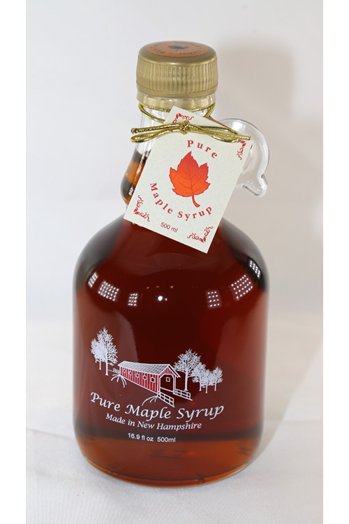 100% Pure Maple Syrup - 16.9 ounce Glass Jug