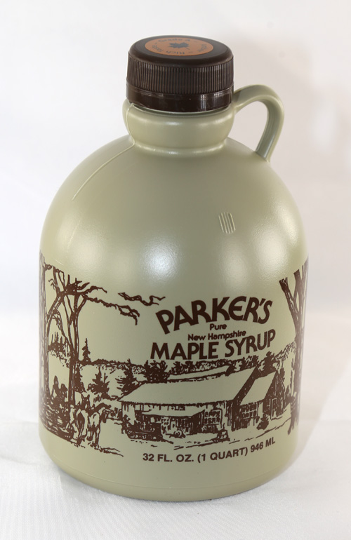 #3 - Plastic Jug - Pure Maple Syrup - Quart - 32 oz