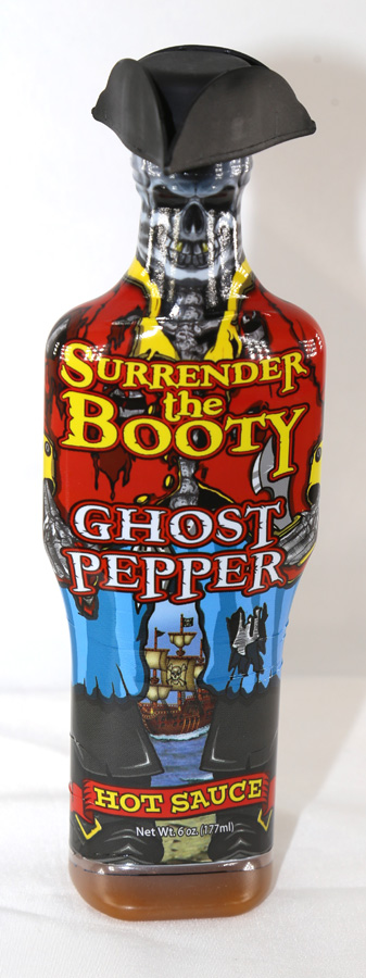 Surrender the Booty Ghost Pepper Hot Sauce - 6 ounces