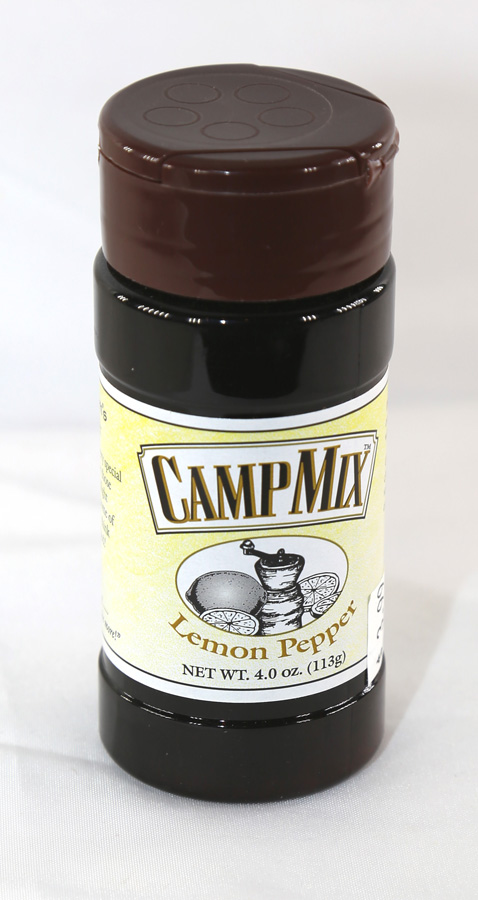 Camp Mix - Lemon Pepper - 4.1 ounces