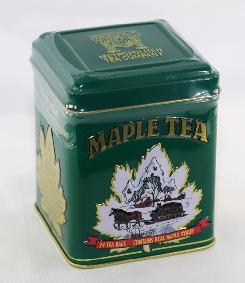 Maple Tea - 24 Bags in Green Tin