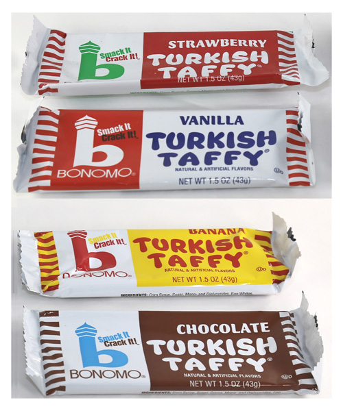 BONOMO Turkish Taffy - 4 Flavors