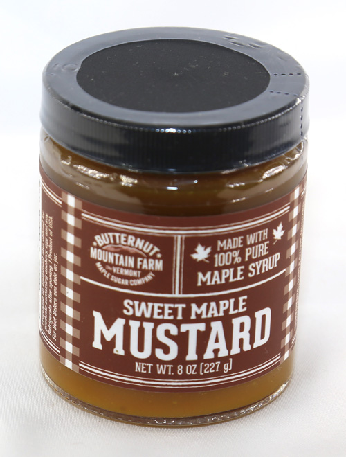 Sweet Maple Mustard - 8 ounces