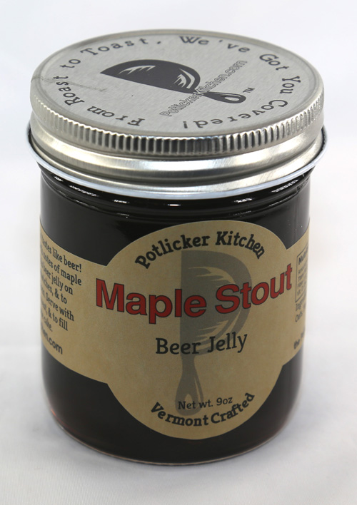 Maple Stout Beer Jelly - 9 ounces