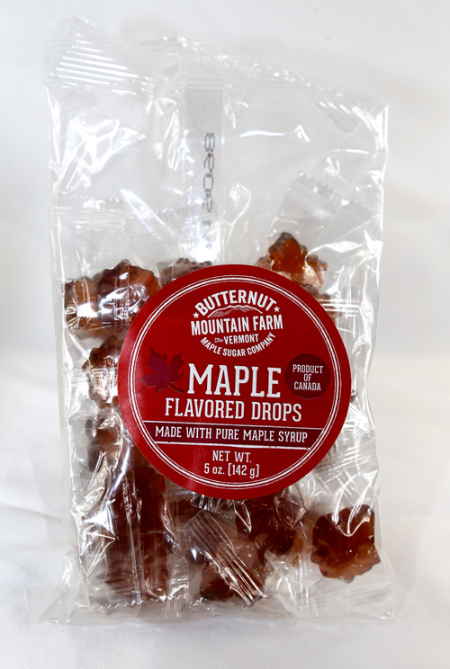 Maple Flavored Drops - 5 ounce bag