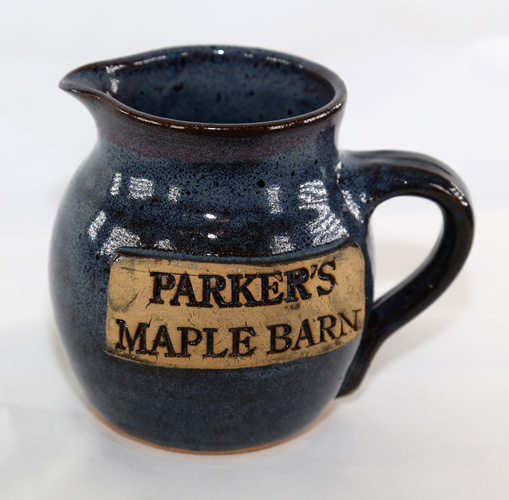 """Parker\'s Maple Barn\"" Syrup Pitcher"