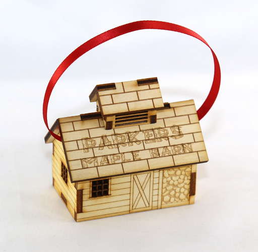 Laser Cut Miniature Sugar House
