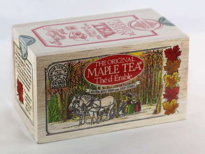 The Original Maple Tea`The d Erable' - 25 tea bags