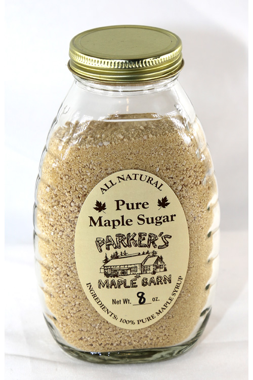 All Natural Pure Maple Sugar Crystals, 8 ounces