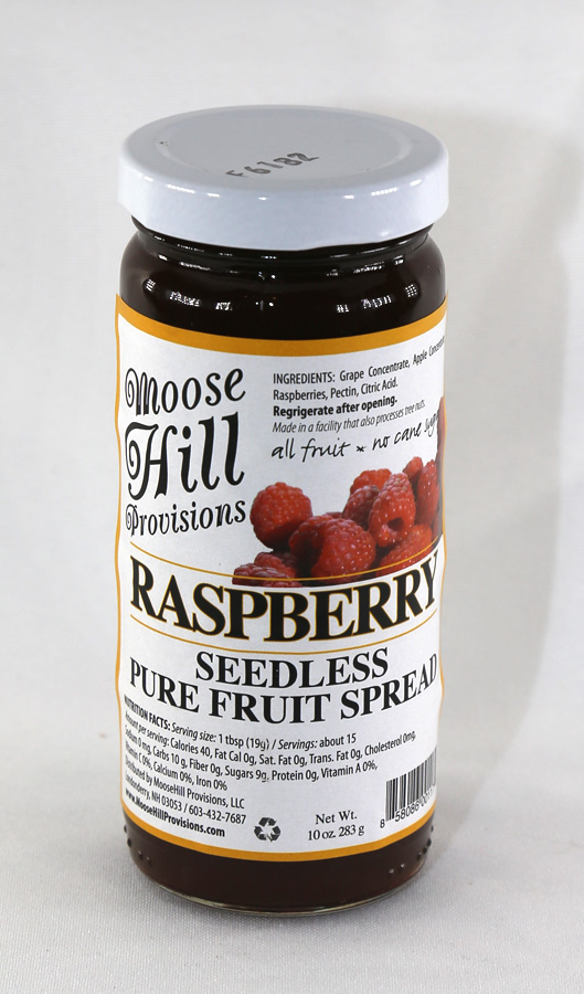 Moose Hill Raspberry Fruit Spread