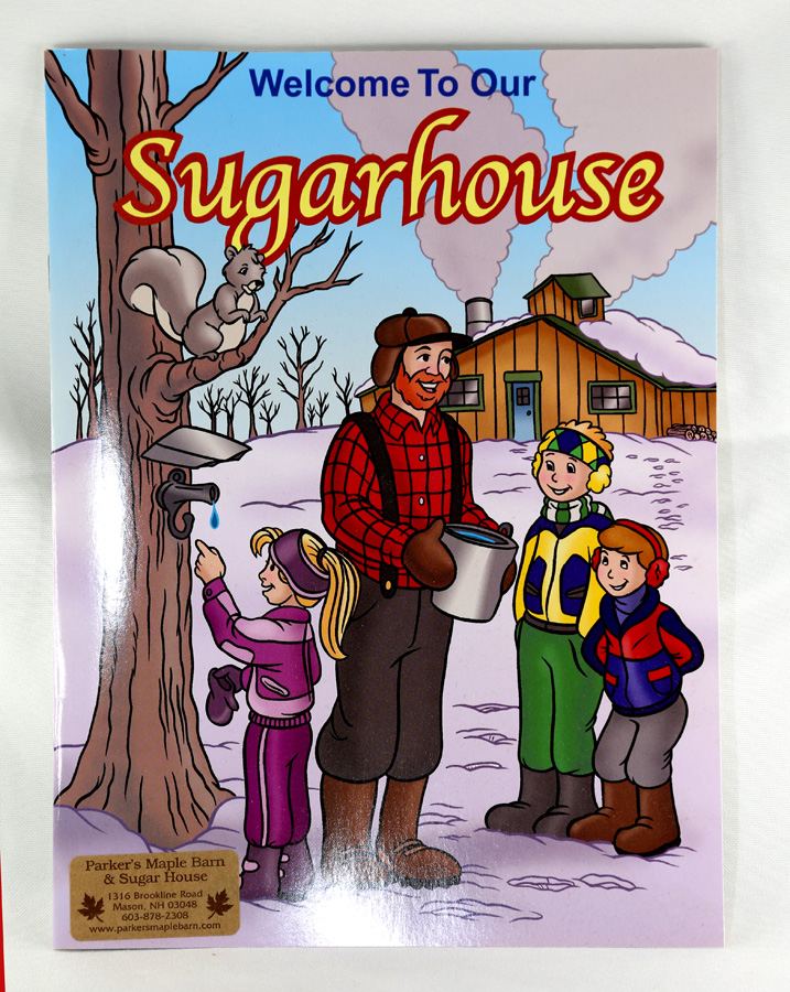 Welcome to Our Sugar House Coloring Book