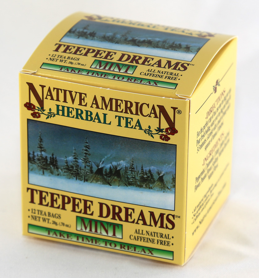 Native American Herbal Tea - Tepee Dreams - 12 Tea Bags