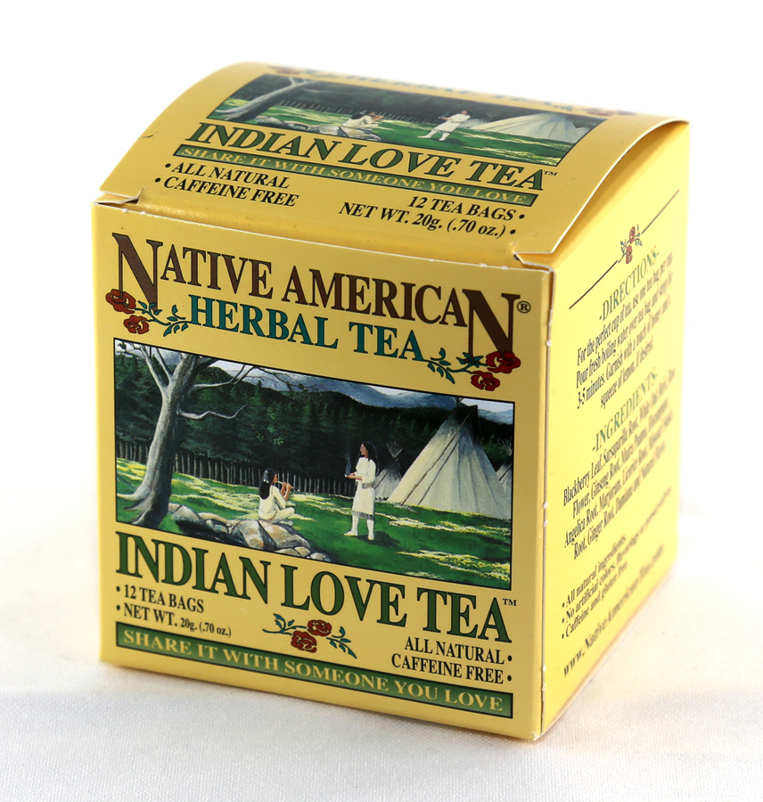 Native American Herbal Tea - Indian Love Tea - 12 Tea Bags