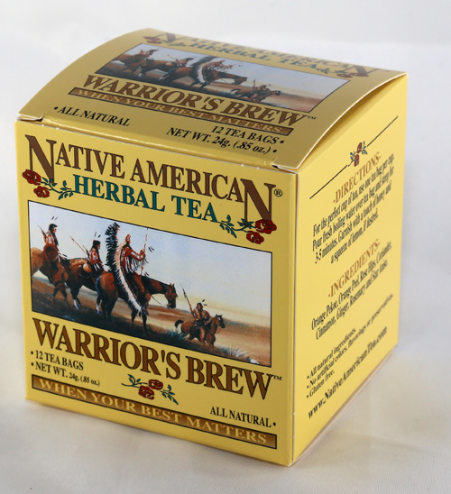 Native American Tea - Warrior`s Brew - 12 Tea Bags