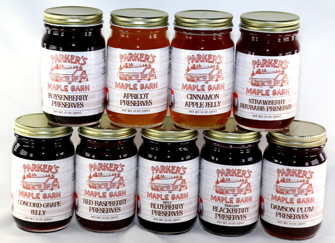 Parker's Maple Barn Jam Preserves - 10 ounce