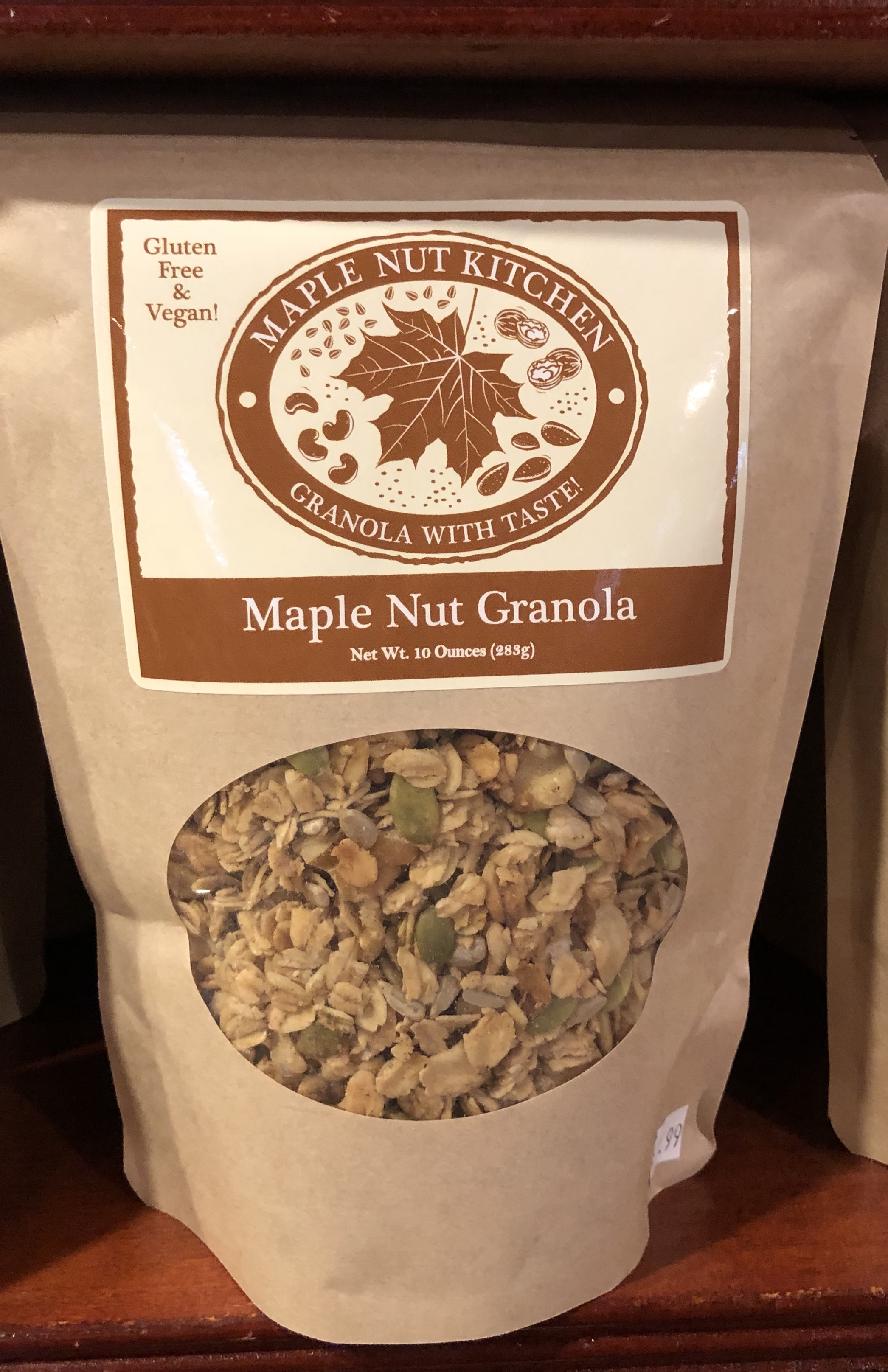 Maple Nut Kitchen Granola 10 oz. 8 flavors