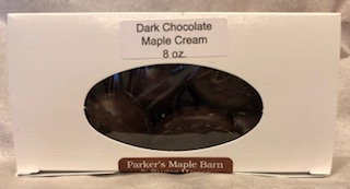 Dark Chocolate, Maple Cream - 8 oz.