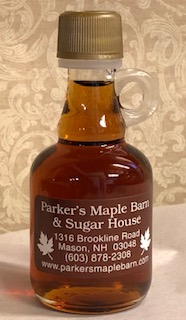 "100% Pure Maple Syrup - 1.7 ounce Glass ""Nip"""