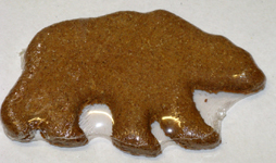 Peanut Butter Bear Dog Treat
