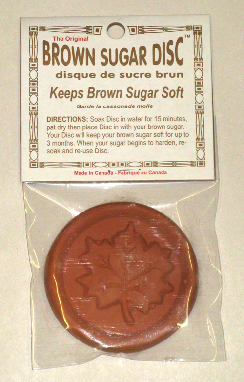 Brown Sugar Disc - Maple Leaf