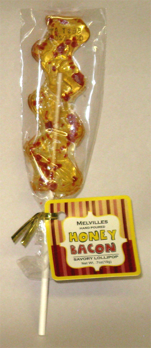 Melville`s Hand Poured Honey Bacon Savory Lollipop (7 oz)