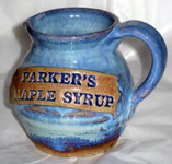 Parker`s Maple Syrup Pitcher