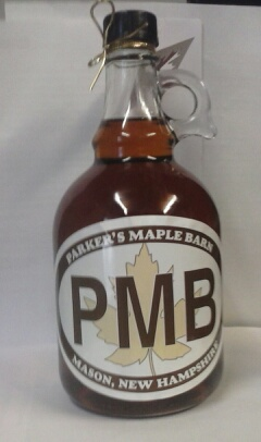 100% Pure Maple Syrup - 34 ounce Glass Jug