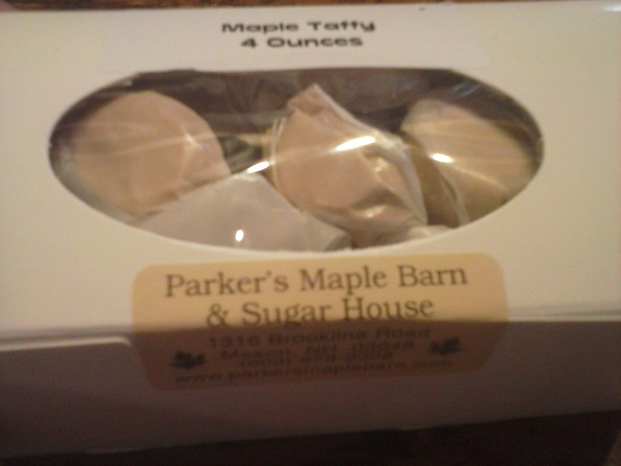 Old Fashioned Maple Taffy - 4 oz.
