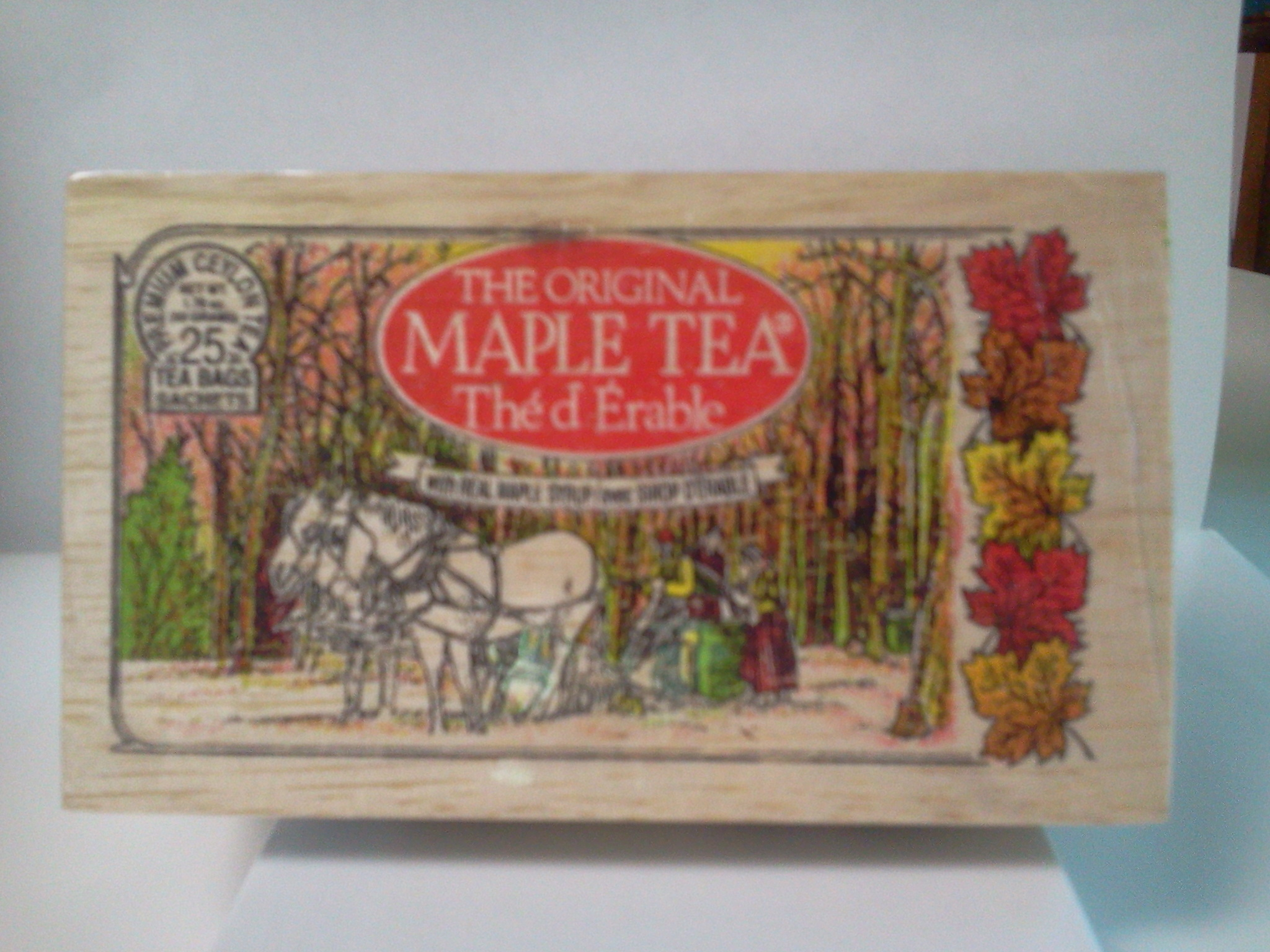 The Original Maple Tea - 12 tea bags