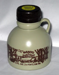 #5 - Plastic Jug - Pure Maple Syrup - Half Pint -  8 oz