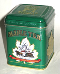 Maple Tea - 12 Bags in Green Tin