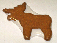Parmesan Moose Dog Treat