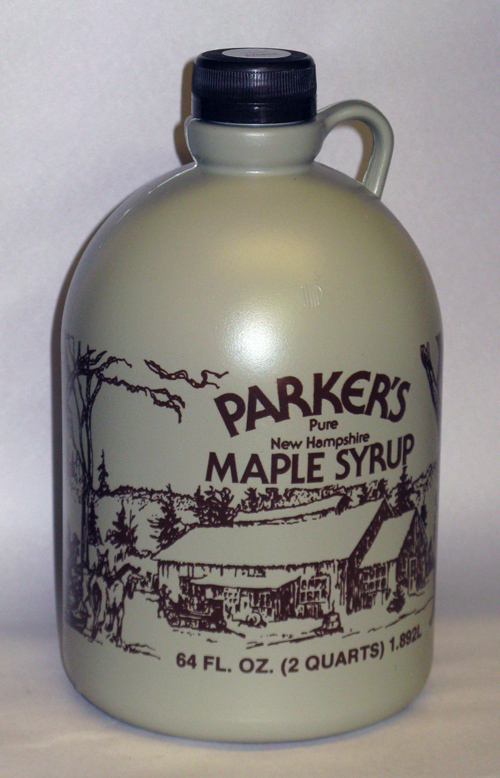 #2 - Plastic Jug - Pure Maple Syrup - Half Gallon - 64 oz