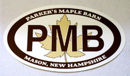 Parkers Maple Barn - Auto Decal