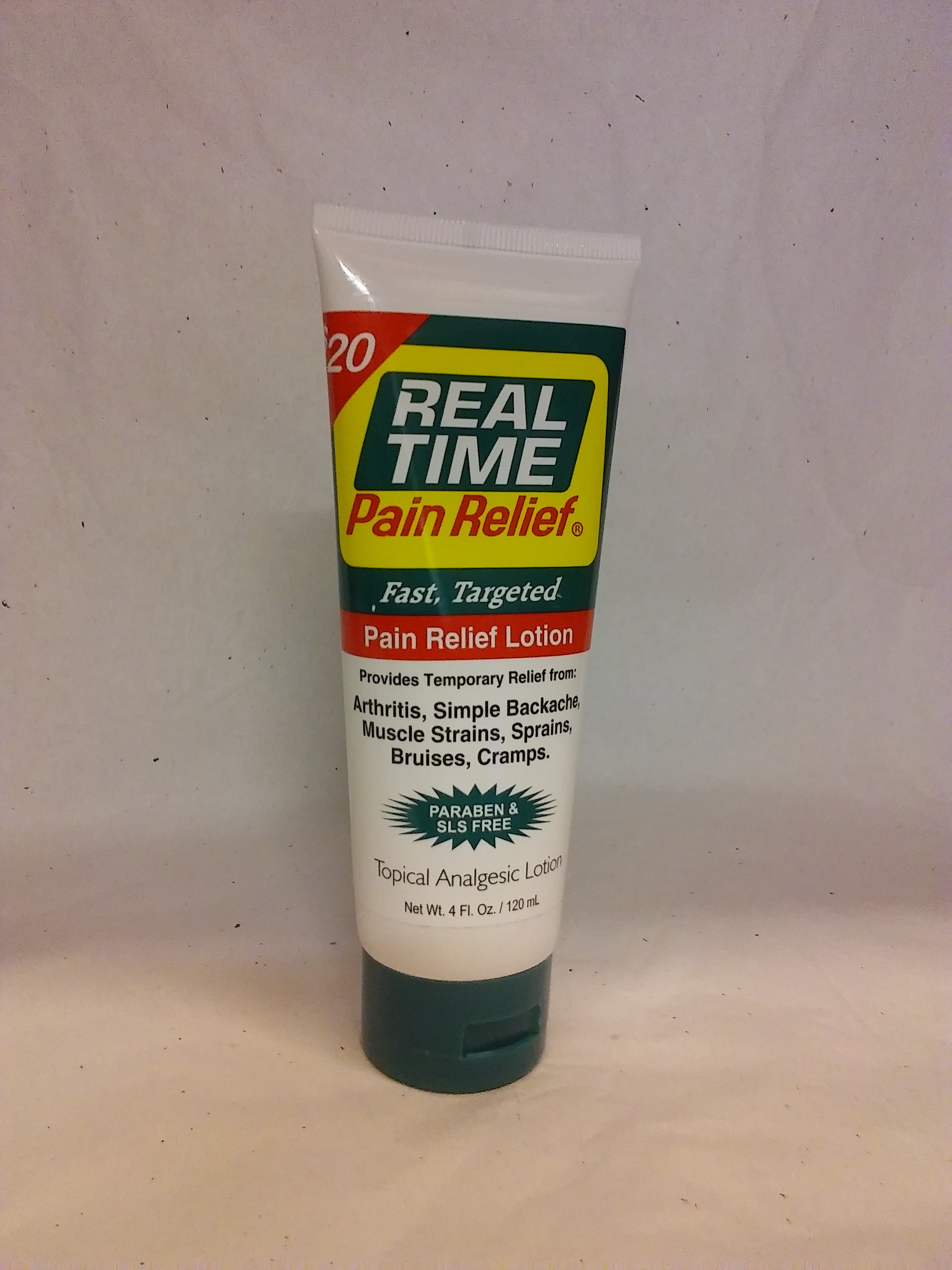 Real Time Pain Relief 4Fl oz Tube