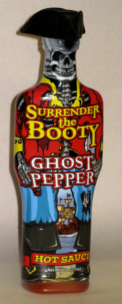 Surrender the Booty Ghost Pepper Hot Sauce (6 oz)
